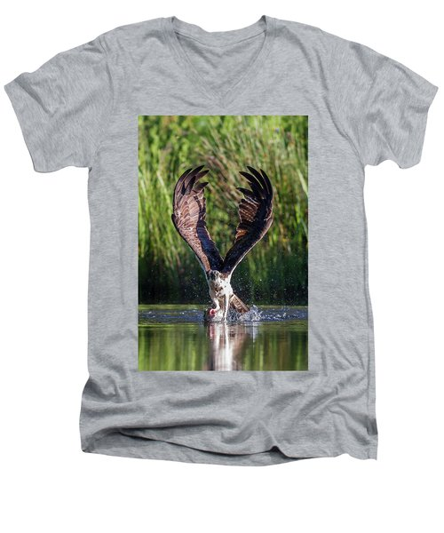 Osprey - Strike Men's V-Neck T-Shirt