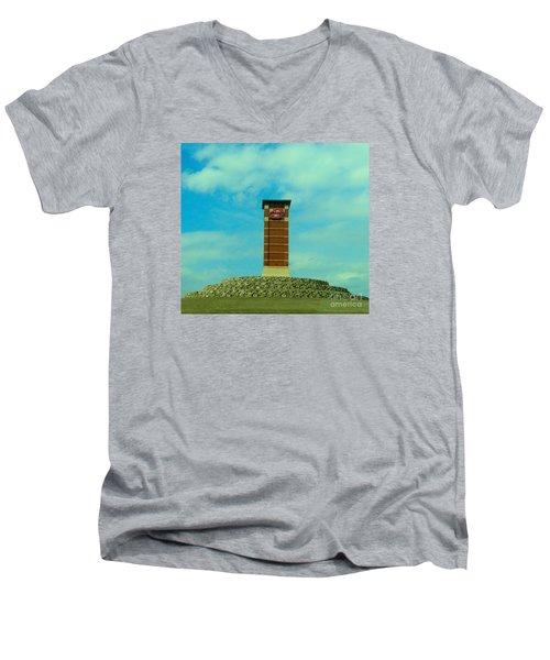 Oklahoma State University Gateway To Osu Tulsa Campus Men's V-Neck T-Shirt