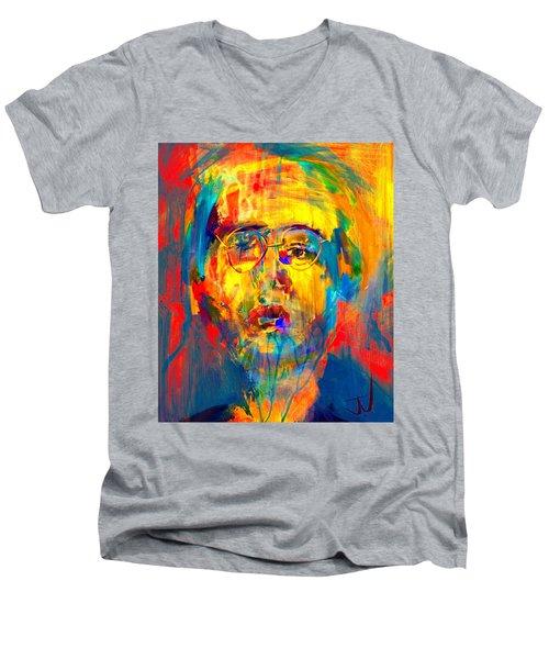 Oswald Men's V-Neck T-Shirt by Jim Vance