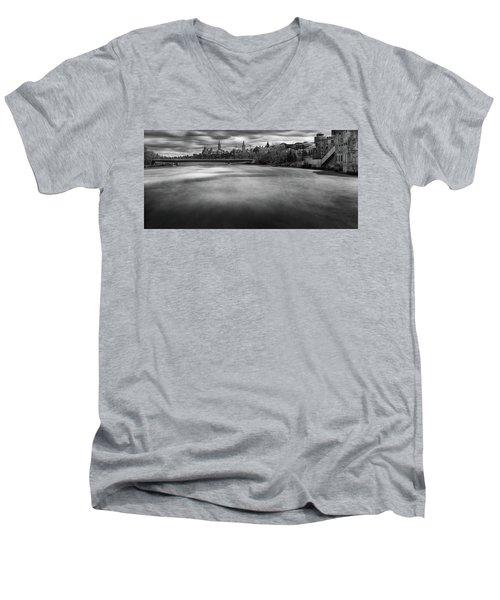Ottawa Spring Flood Men's V-Neck T-Shirt