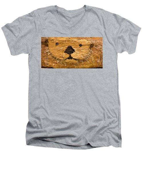 Otter Men's V-Neck T-Shirt