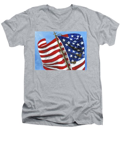 Our Founding Principles Men's V-Neck T-Shirt