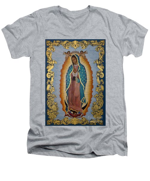 Our Lady Of Guadalupe - Lwlgl Men's V-Neck T-Shirt