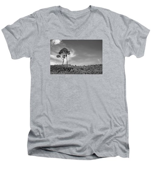 Ours Men's V-Neck T-Shirt