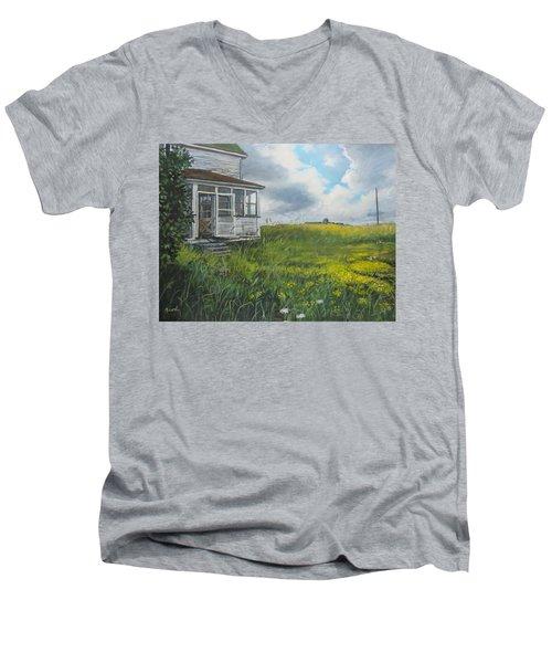 Out Back Men's V-Neck T-Shirt