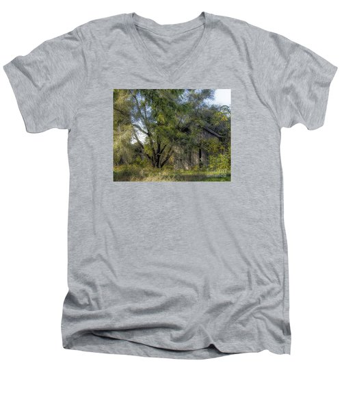 Out In The Back 40 Men's V-Neck T-Shirt by JRP Photography