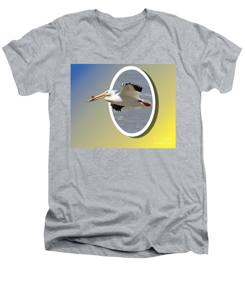Out Of Frame Men's V-Neck T-Shirt