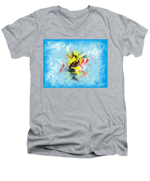 Out Of The Blue 5 Men's V-Neck T-Shirt