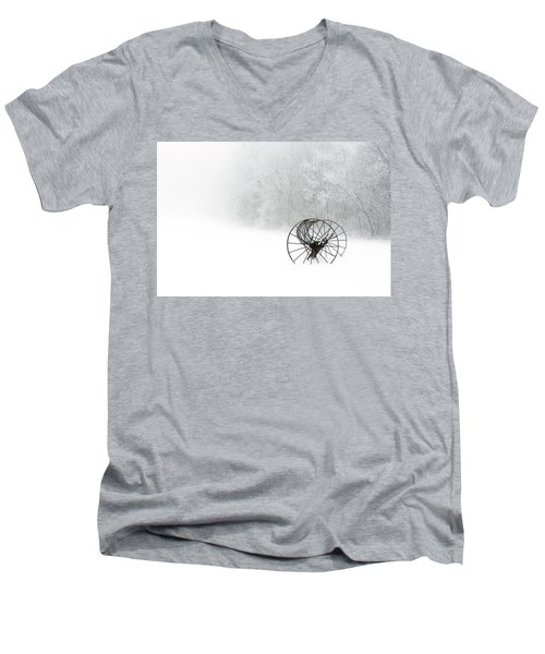 Out Of The Mist A Forgotten Era 2014 Men's V-Neck T-Shirt