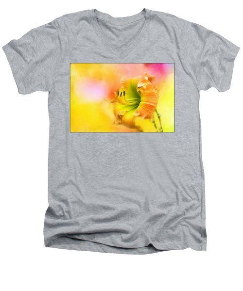 Out Of Yellow Men's V-Neck T-Shirt