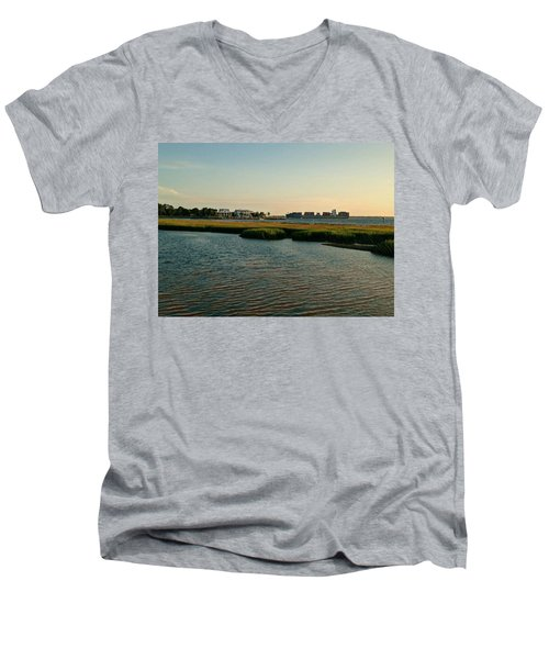 Out To Sea Men's V-Neck T-Shirt