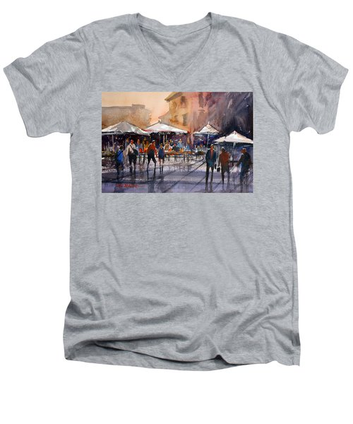 Outdoor Market - Rome Men's V-Neck T-Shirt