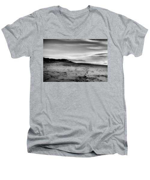 Outer Sunset Ocean Beach San Francisco Men's V-Neck T-Shirt by Kandy Hurley