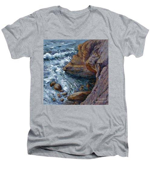 Outrush Men's V-Neck T-Shirt