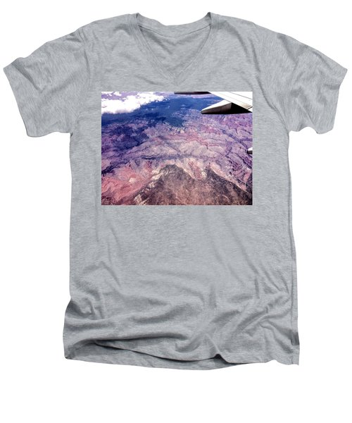 Over The Canyon Men's V-Neck T-Shirt
