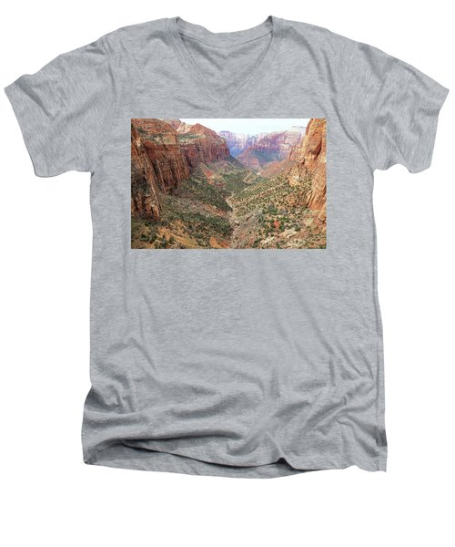 Overlook Canyon Men's V-Neck T-Shirt
