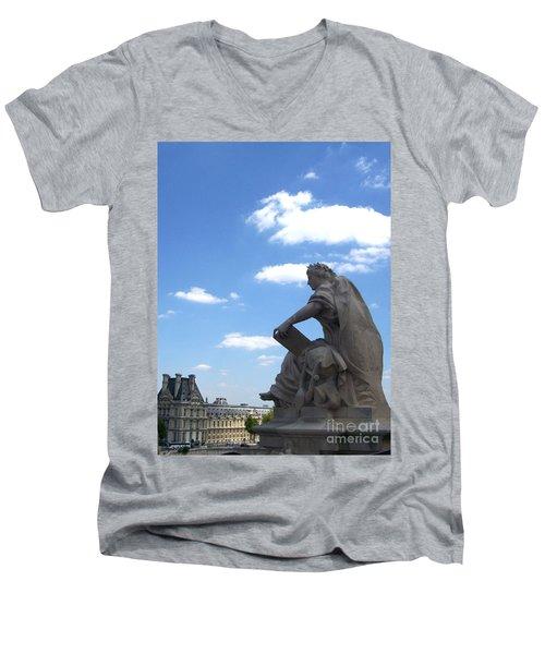 Overseer Men's V-Neck T-Shirt