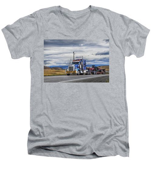 Oversize Load Men's V-Neck T-Shirt