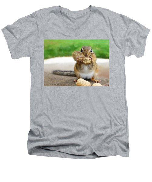 Overstuffed Men's V-Neck T-Shirt