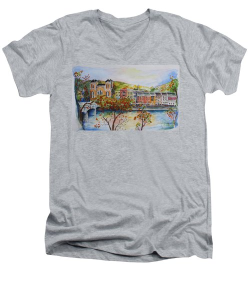 Owego Men's V-Neck T-Shirt