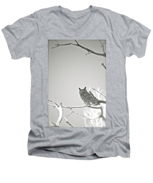 Owl Be Seeing You Men's V-Neck T-Shirt