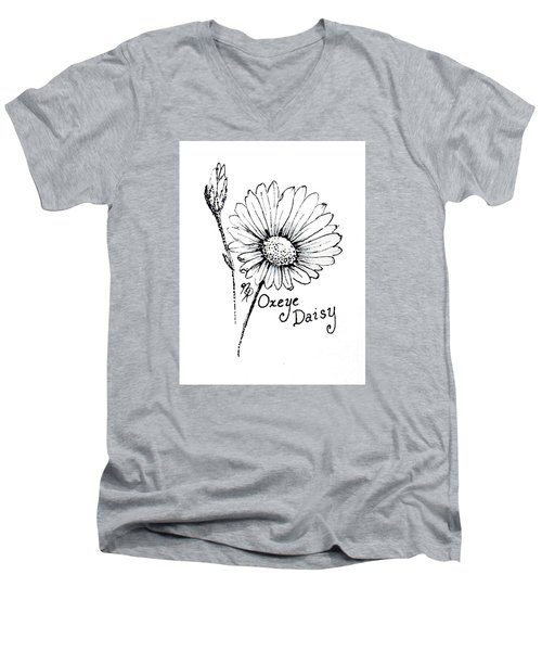Oxeye Daisy Men's V-Neck T-Shirt