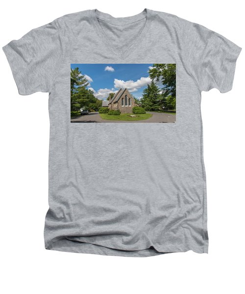 Oxford Church Men's V-Neck T-Shirt