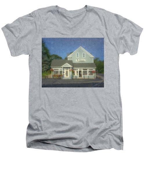 Oxford Cleaners Men's V-Neck T-Shirt