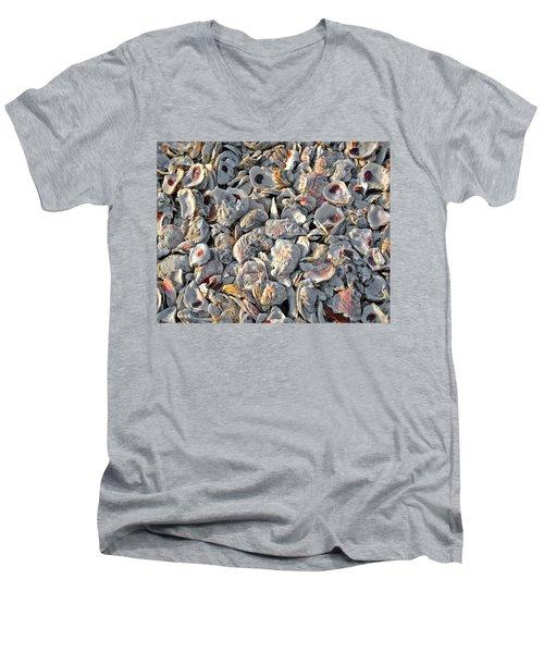 Oysters Shells Men's V-Neck T-Shirt