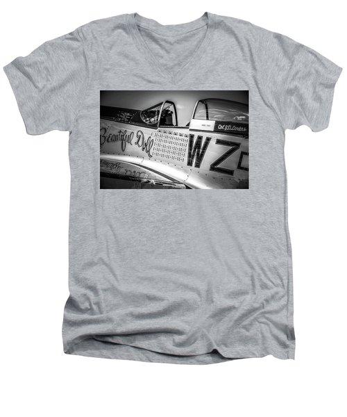 P-51 Mustang - Series 1 Men's V-Neck T-Shirt