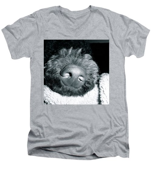 Bodhi Nose Men's V-Neck T-Shirt by Gallery Messina
