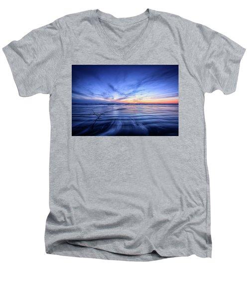 Pacific Marvel Men's V-Neck T-Shirt
