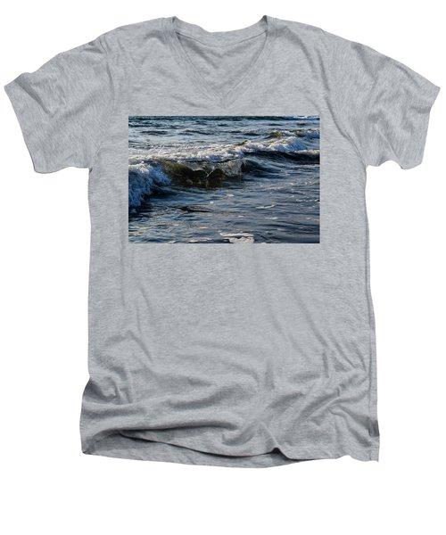 Pacific Waves Men's V-Neck T-Shirt