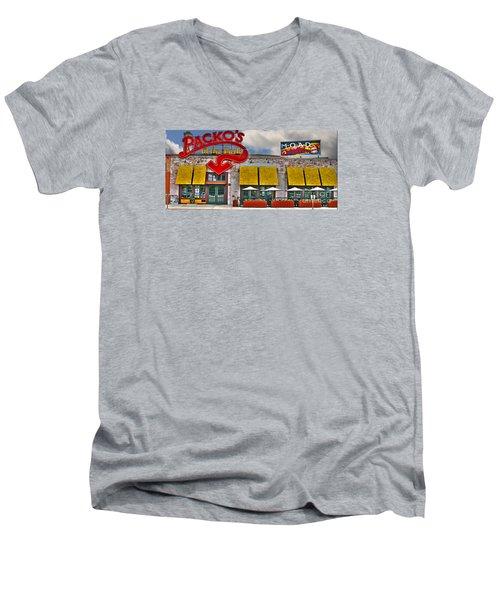 Packo's At The Park Men's V-Neck T-Shirt