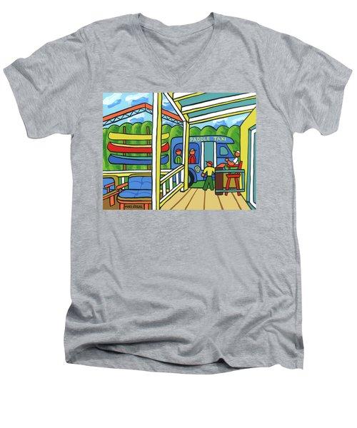Paddle Taxi - Rum 138 Men's V-Neck T-Shirt