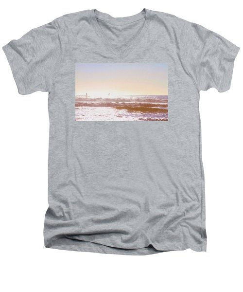 Paddleboarders Men's V-Neck T-Shirt