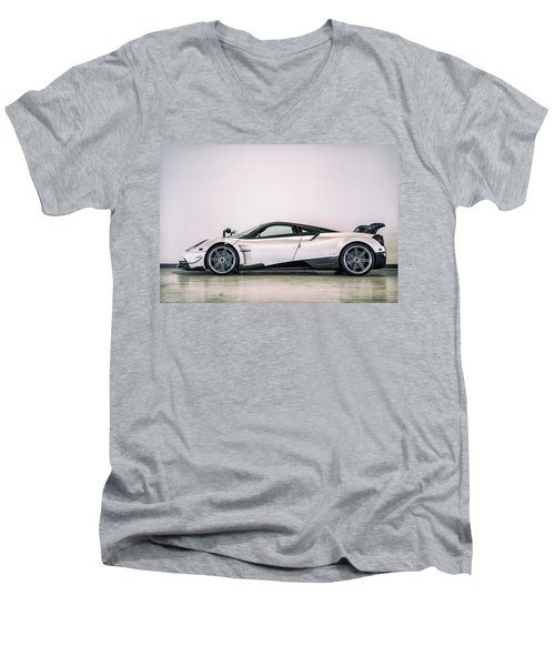 #pagani #huayra Bc Men's V-Neck T-Shirt