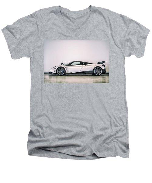 #pagani #huayra Bc Men's V-Neck T-Shirt