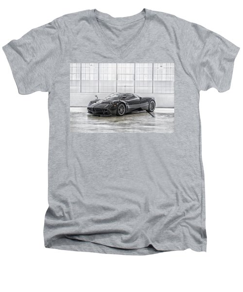 Pagani Huayra Men's V-Neck T-Shirt