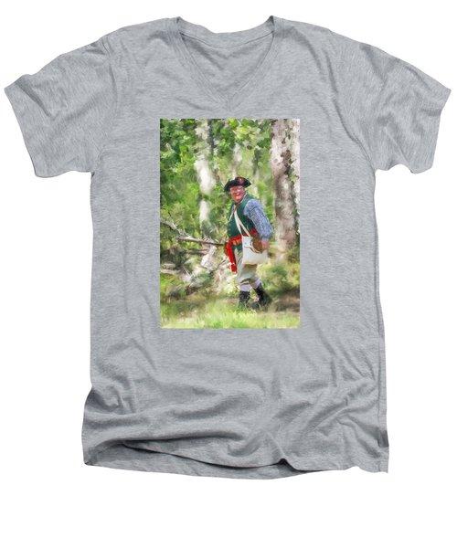 Page 14a Men's V-Neck T-Shirt