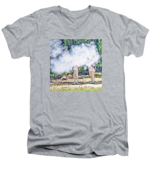 Page 27 Men's V-Neck T-Shirt