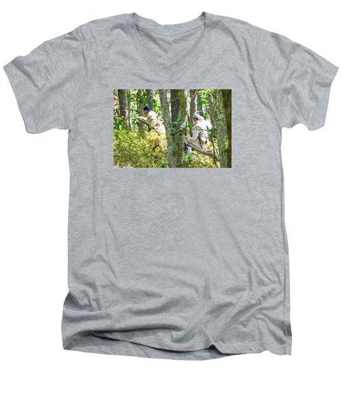 Page 32 Men's V-Neck T-Shirt