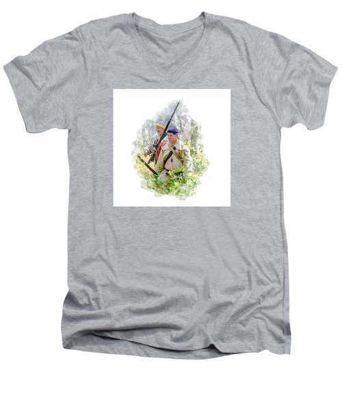 Page 34 Men's V-Neck T-Shirt