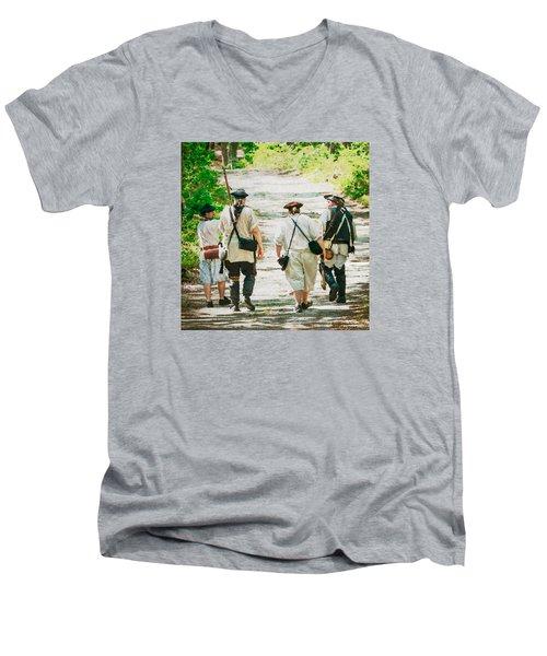 Page 9 Men's V-Neck T-Shirt