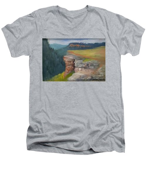 Pagosa Springs View Men's V-Neck T-Shirt