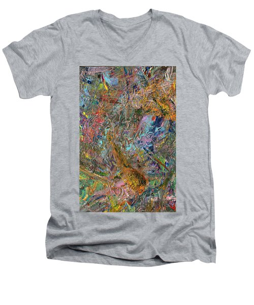 Paint Number 26 Men's V-Neck T-Shirt