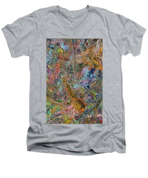 Paint Number 26 Men's V-Neck T-Shirt