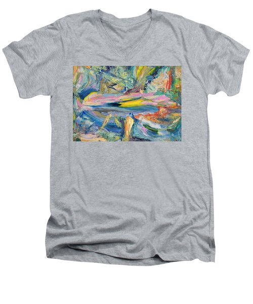 Paint Number 31 Men's V-Neck T-Shirt
