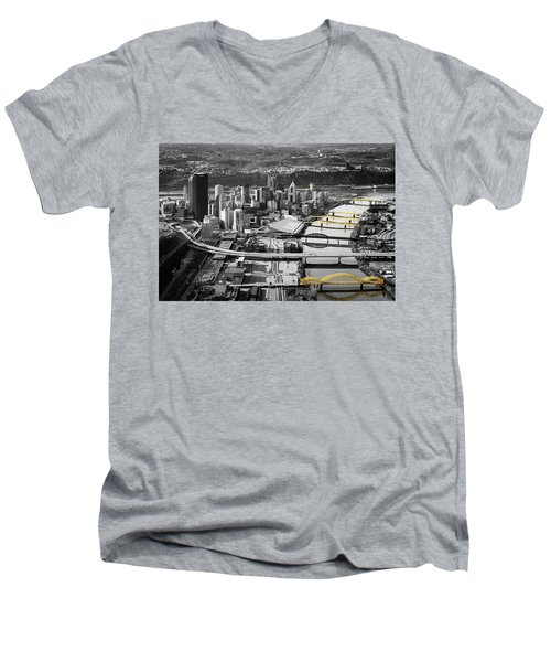 Painted Bridges  Men's V-Neck T-Shirt