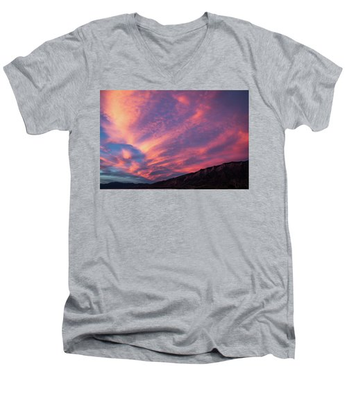 painted by Sun Men's V-Neck T-Shirt